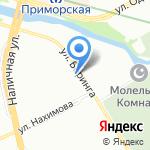 Йоркин Дом на карте Санкт-Петербурга