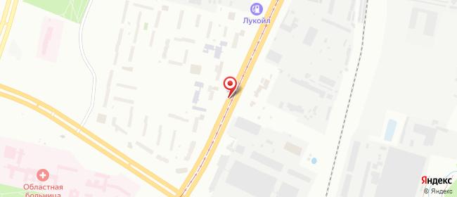 Карта расположения пункта доставки Витязь на Бровки в городе Витебск