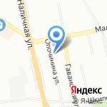 Спортивная школа Алёны Куракиной на карте Санкт-Петербурга
