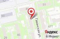 Схема проезда до компании Текст в Санкт-Петербурге