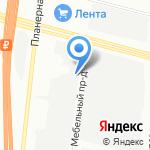 GTI-Motors на карте Санкт-Петербурга