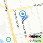 КВ металл на карте Санкт-Петербурга