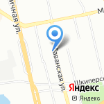 Гаванский на карте Санкт-Петербурга