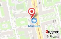 Схема проезда до компании Омикрон в Санкт-Петербурге