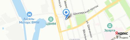 ТЭА на карте Санкт-Петербурга
