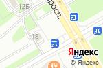 Схема проезда до компании Сеть магазинов запчастей для Renault в Санкт-Петербурге