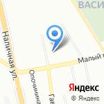СДЮСШОР по волейболу на карте Санкт-Петербурга
