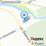 Геркос на карте Санкт-Петербурга