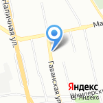ЖБИ-ПАРК на карте Санкт-Петербурга