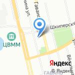 Успех на карте Санкт-Петербурга
