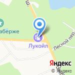 ЛУКОЙЛ на карте Санкт-Петербурга