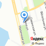 Планета на карте Санкт-Петербурга