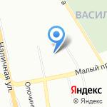 Компания по продаже светодиодного осветительного оборудования на карте Санкт-Петербурга