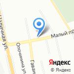 Estudio на карте Санкт-Петербурга