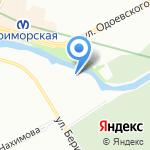 Невский Стандартъ на карте Санкт-Петербурга