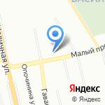 Участковый пункт полиции №11 на карте Санкт-Петербурга