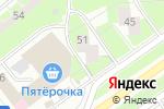 Схема проезда до компании Трио-Балтика в Санкт-Петербурге