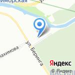 КОМАНДОР на карте Санкт-Петербурга