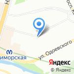 Светлана на карте Санкт-Петербурга