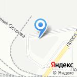 ВИСТ на карте Санкт-Петербурга