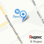 БРАУНИ на карте Санкт-Петербурга