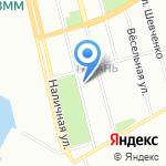 Счастливый ребенок на карте Санкт-Петербурга