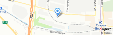 Формация на карте Санкт-Петербурга
