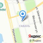 Гаванская 12 к2 на карте Санкт-Петербурга