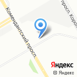 Максавто на карте Санкт-Петербурга