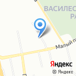 Детская городская стоматологическая поликлиника №1 на карте Санкт-Петербурга