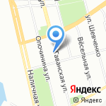 Лидия на карте Санкт-Петербурга