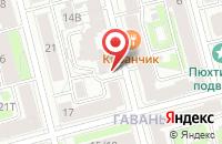 Схема проезда до компании Гелиус в Санкт-Петербурге