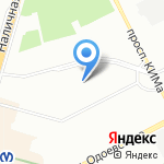 Гавань на карте Санкт-Петербурга
