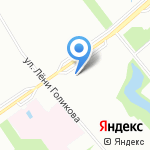 Хоум Кредит энд Финанс Банк на карте Санкт-Петербурга