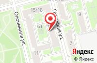 Схема проезда до компании Оск-Шлиссельбург в Санкт-Петербурге