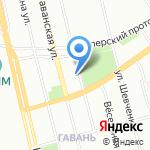 Ассоциация любителей птиц г. Санкт-Петербурга на карте Санкт-Петербурга