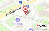 Схема проезда до компании Прогресс-Студия в Санкт-Петербурге