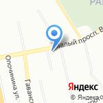 8 отряд ФПС по г. Санкт-Петербургу на карте Санкт-Петербурга