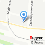 Sann на карте Санкт-Петербурга