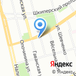 Универсальный магазин на карте Санкт-Петербурга