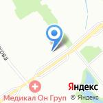 Домашний на карте Санкт-Петербурга
