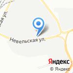 Гидросканд на карте Санкт-Петербурга
