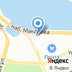 Докландс Development на карте Санкт-Петербурга