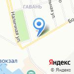 Магазин бытовой химии и канцтоваров на карте Санкт-Петербурга
