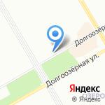 Жилищно-строительный кооператив №1283 на карте Санкт-Петербурга