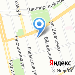 Василёк на карте Санкт-Петербурга