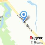 Лига на карте Санкт-Петербурга