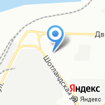 Золотая Ива на карте Санкт-Петербурга