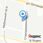 EcoFresh на карте Санкт-Петербурга