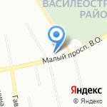 Сеть магазинов товаров для дома и ремонта на карте Санкт-Петербурга